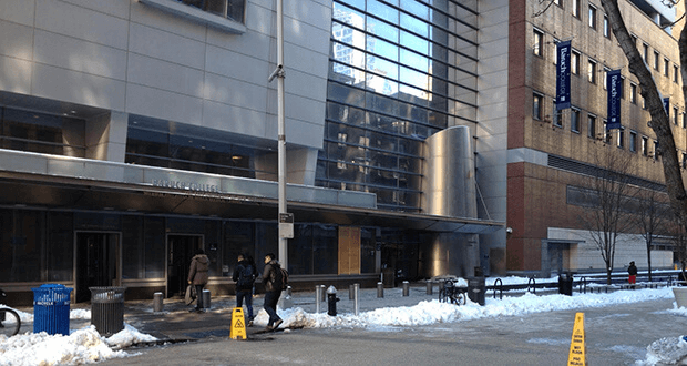 Baruch College on January 28, 2015