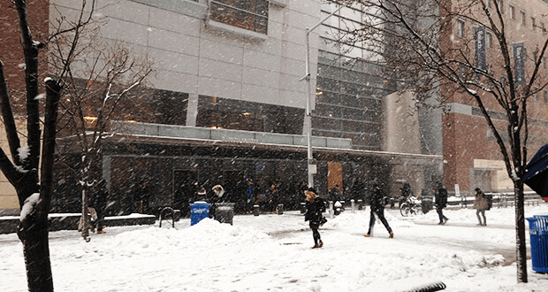 Baruch College on February 2, 2015
