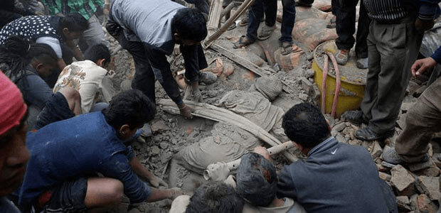 Earthquake Rescue Operation in Nepal