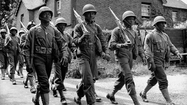 African American Soldiers in England