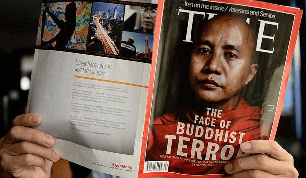 Ashin Wirathu On Time Magazine