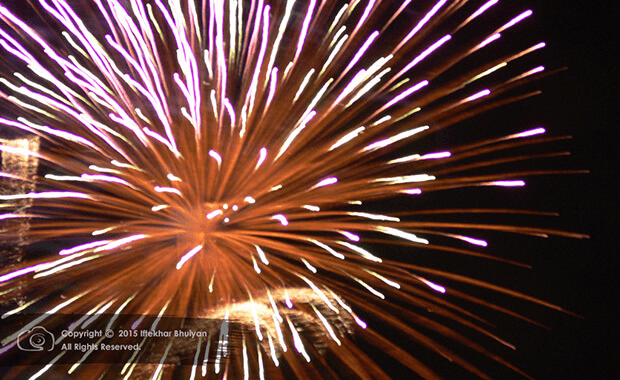 4th July 2015 Fireworks