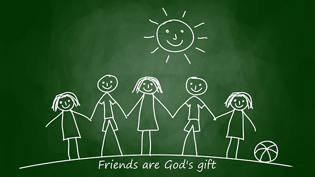 Friends are Gods Gift