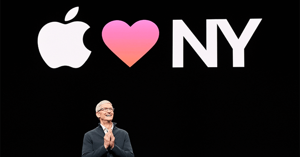 Tim Cook at the Apple Event in Brooklyn 2018