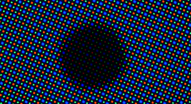 AMOLED Under Microscope